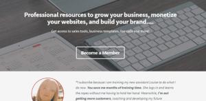 membership homepage