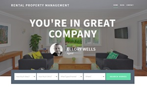rental property website