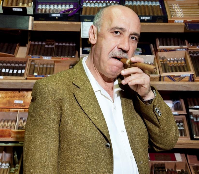 cigar aficionado store owner